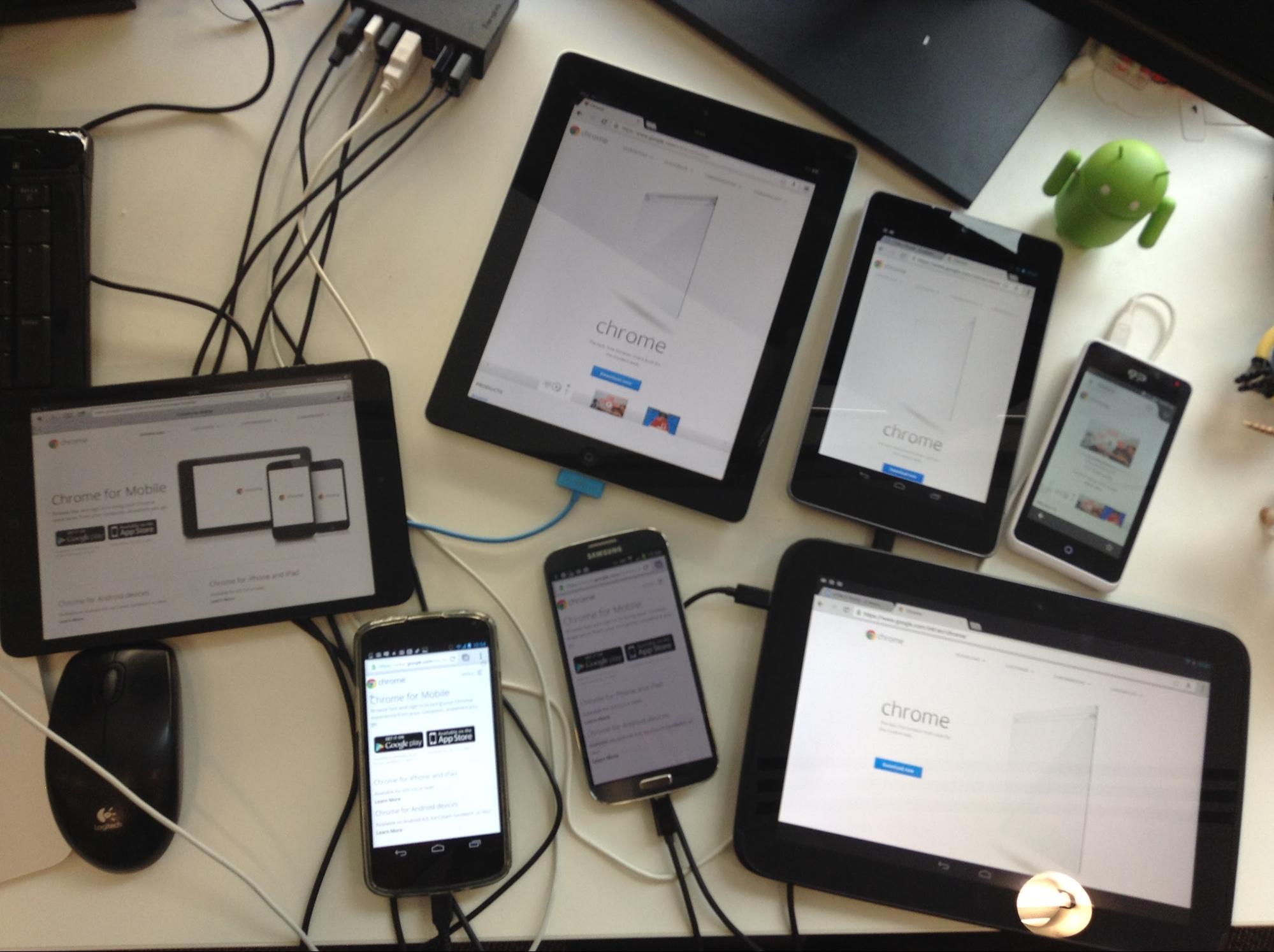 Synchronized Crossdevice Mobile Testing  HTML5 Rocks