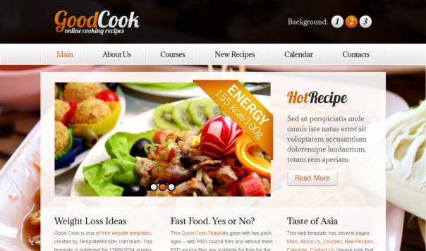 Goodcook-free-html5-and-css3-templates