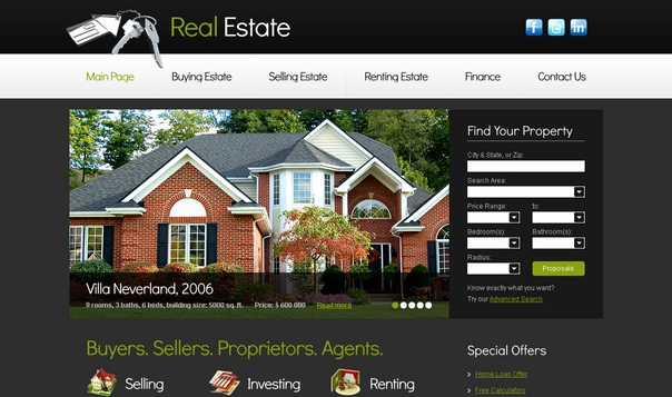 real-estate-free-html5-templates