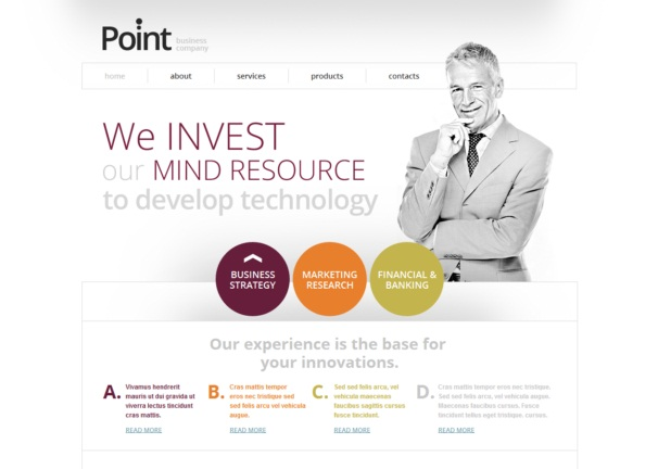 point2 theme [Free Html5 and Css3 Templates]