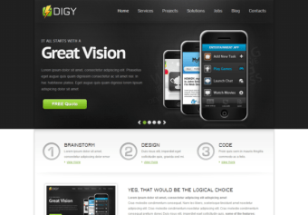 Digy – Responsive Html5 Template