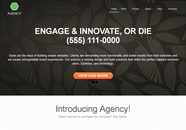Agency Template [Free Html5 and Css3 Templates]