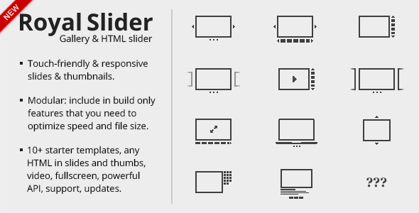 RoyalSlider Touch Enabled jQuery Image Gallery