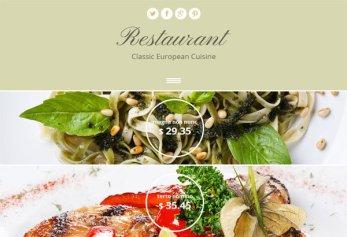 Restaurant – Html5 Template