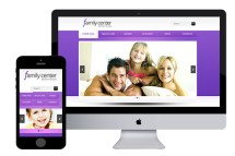 zfamilycenter free responsive html5 template