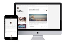 future imperfect free resonsive html5 template