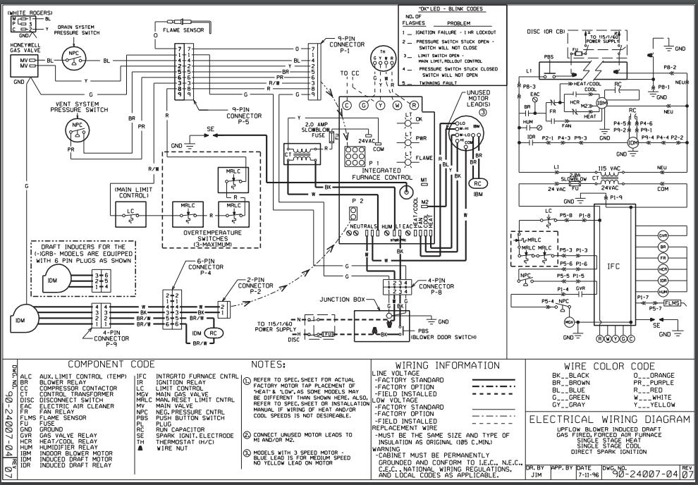 [Download 23+] Wiring Diagram Ruud Ac Unit