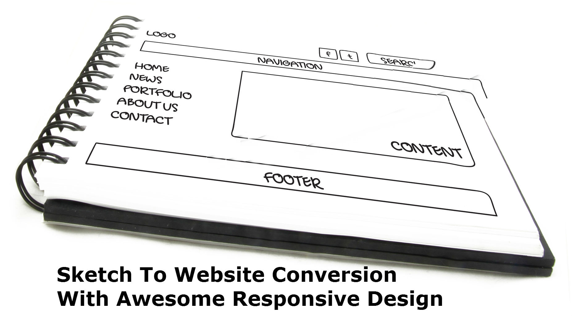 Guide To Sketch To Website Conversion With Responsive Design
