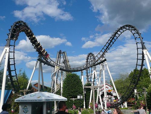 Sidewinder Rollercoaster Hershey Park