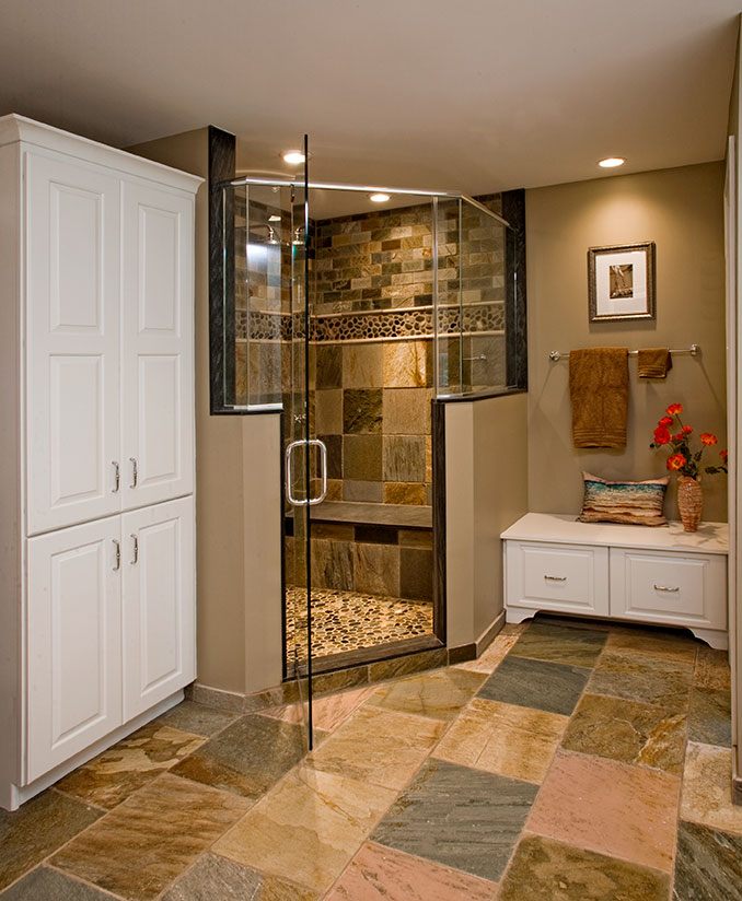 Eclectic Bathrooms Designs  Remodeling  HTRenovations