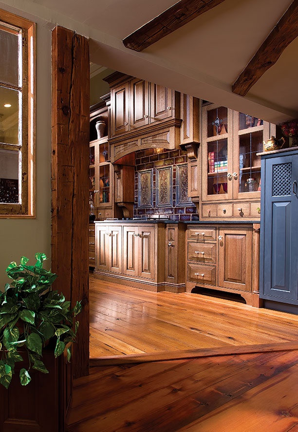 Country Kitchen Tiles Ideas