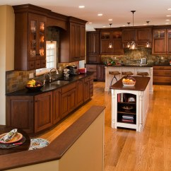 Slate Kitchen Backsplash Modern Traditional Kitchens Designs & Remodeling | Htrenovations