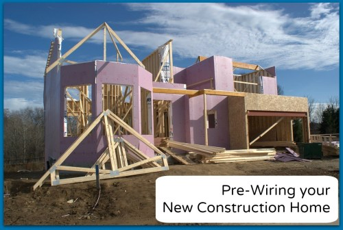 small resolution of pre wire new construction home