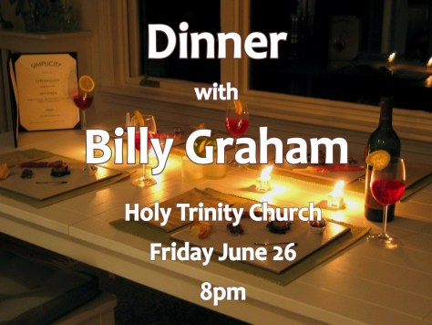 dinner with billy graham