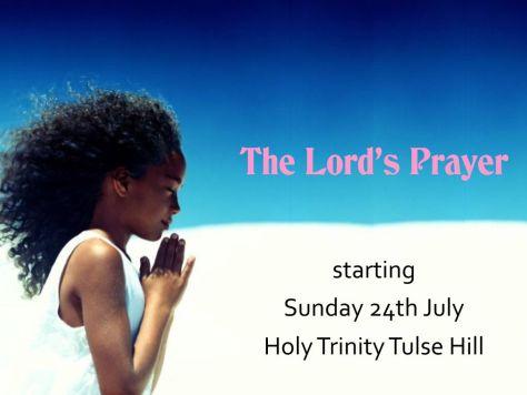 Lord's prayer series