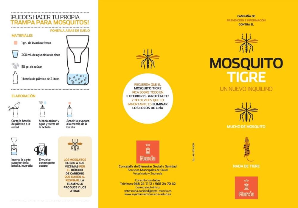 Insecticidas contra el mosquito tigre