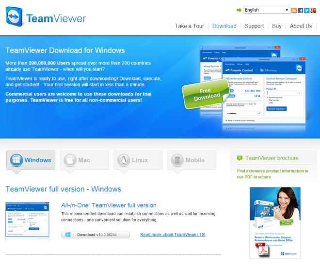 Teamviewer_Download_Page