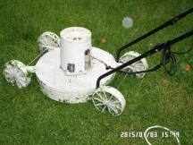 Fouche's 3D printed lawnmover. We've used it. It works.