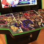 This custom TMNT arcade cabinet is all kinds of radical