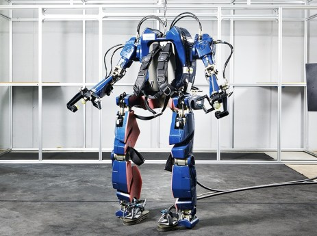 This may be the best looking exoskeleton we've ever seen
