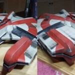 A 3D printed Ebon Hawk from Star Wars: Knights of the Old Republic