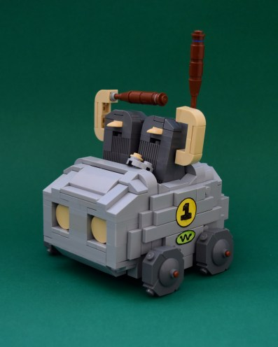Wacky Races LEGO htxt.africa The Boulder Mobile