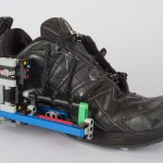 You can create a self-lacing shoe… by gluing some LEGO to it