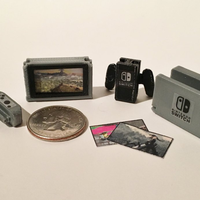 3D Print Tiny Nintendo Switch htxt.africa Pic 1
