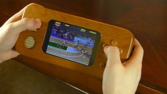 Wooden Games Console Raspberry Pi Pic 3