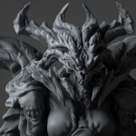 Stay awhile and 3D print this impressive bust of Diablo