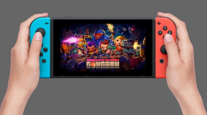 Enter the Gungeon Nintendo Switch Header Image htxt.africa