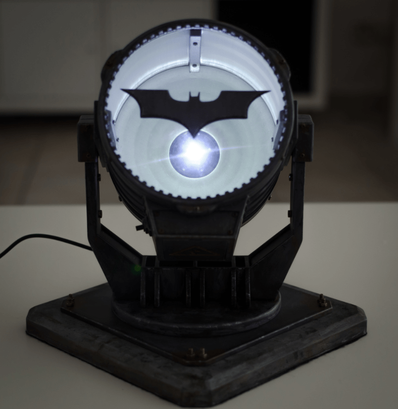 batman 3d printed bat signal from the dark knight rises header pic 14. Black Bedroom Furniture Sets. Home Design Ideas