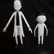 Rick and Morty Action Figure 3D Prints Pic 5