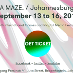 A MAZE. / Johannesburg 2017 returns this month