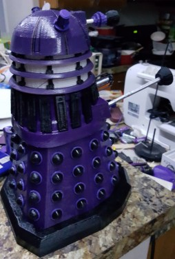 Doctor Who Dalek 3D Print RC Pic 4