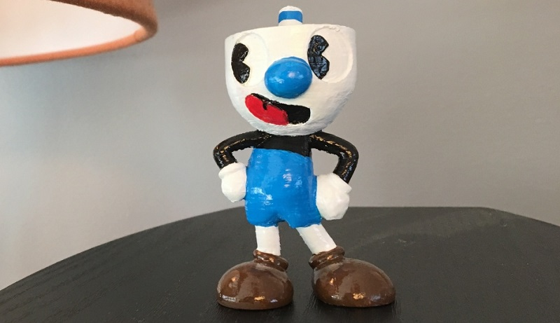 Cupheads Brother Mugman Is Now A 3D Print Htxtafrica