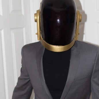 Daft Punk Helmets and Gloves 3D Prints Pic 2