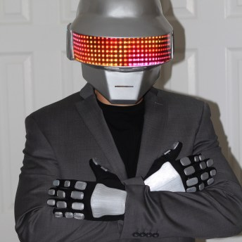 Daft Punk Helmets and Gloves 3D Prints Pic 3