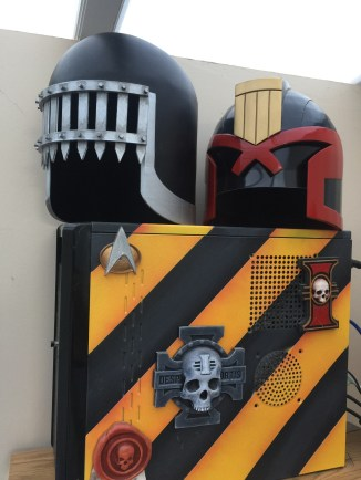 Judge Death Helmet 3D Print Pic 3