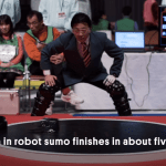 A very quick look at the world of Japanese robot sumo