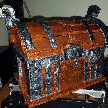 God of War Wooden Chest 3D Print 1