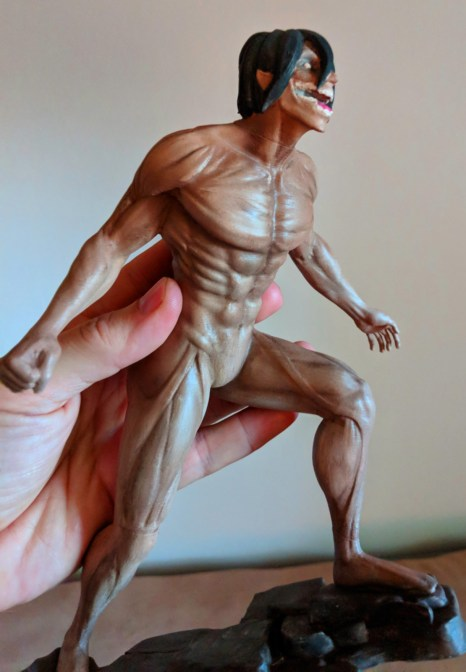 Attack on Titan Eren Yeager 3D Print 4 - Copy