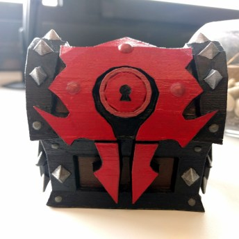 World of Warcraft Horde Chest 3D Print 2