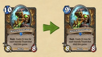 Mana cost decreased by one