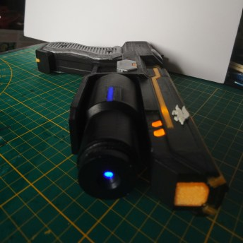 Fox McCloud Blaster 3D Printed 3