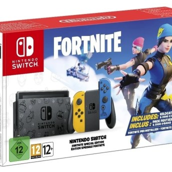 Nintendo Switch Fortnite Special Edition 10