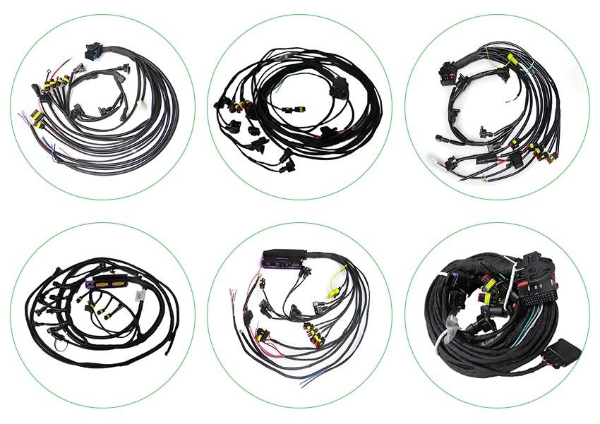 China Customized Automotive Wiring Harness Connector