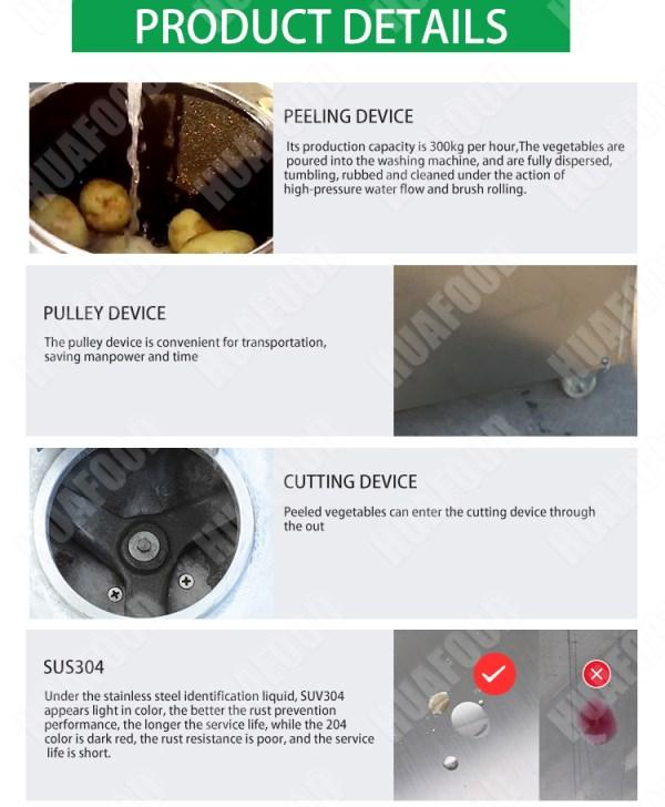 potato peeling and cutting machine (6)