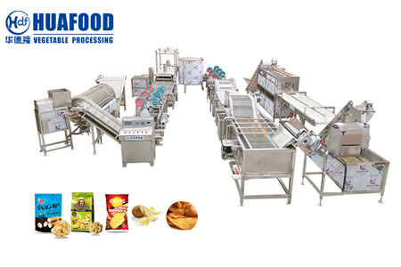 Cooling air drying production line