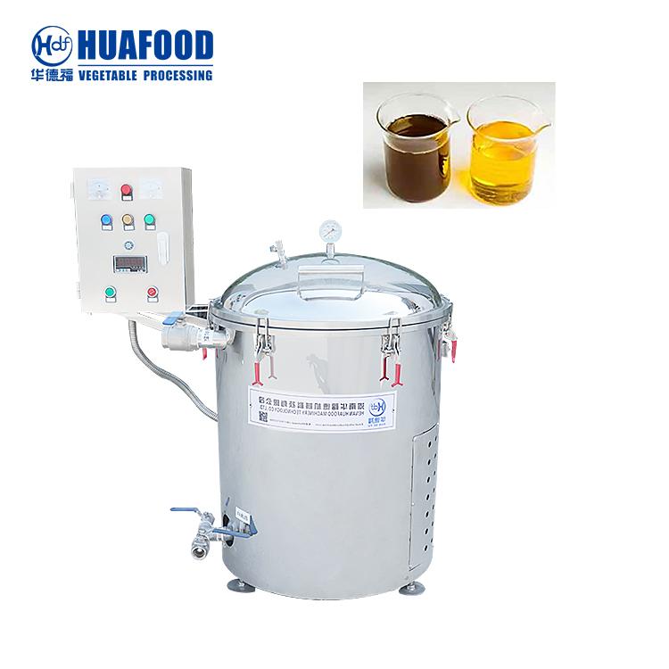 electric fryer oil filter machine